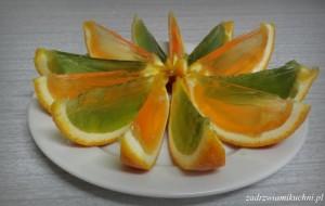 Galaretki w pomarańczy