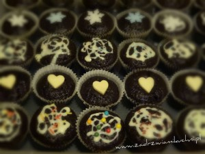 Muffinki czekoladowo korzenne